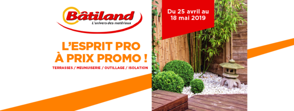 Catalogue promo Batiland